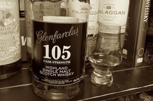 欲しかったのは刺激だけじゃないから、…Glenfarclas 105。